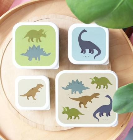 Immagine di A Little Lovely Company® Contenitori snack Dino
