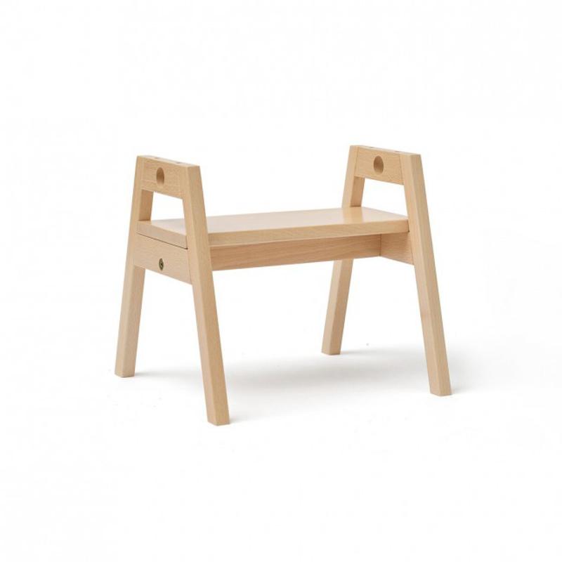 Immagine di Kids Concept® Sgabello in legno per bambini Saga Blonde