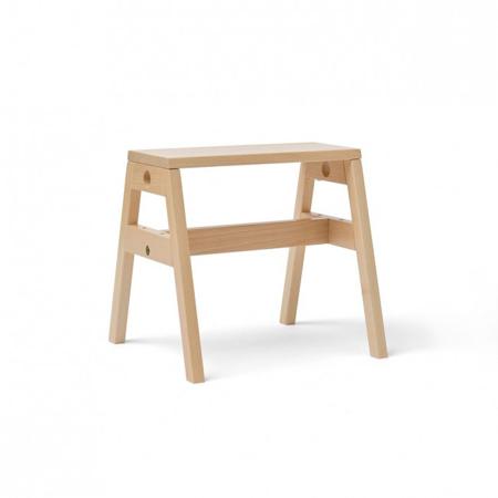 Kids Concept® Sgabello in legno per bambini Saga Blonde