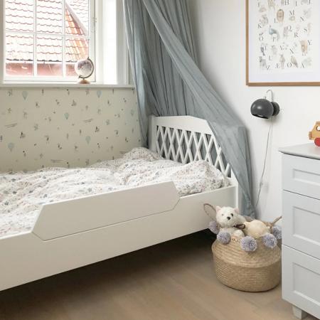 CamCam® Posteljno varovalo za posteljico Harlequin Junior White