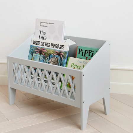 CamCam® Libreria  Harlequin White