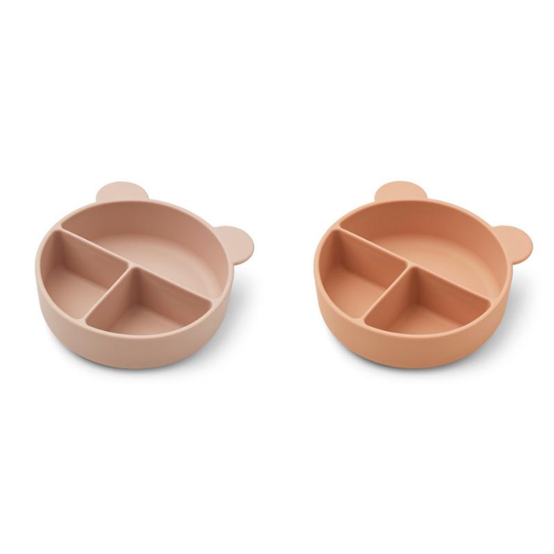 Immagine di Liewood® Set di piatti in silicone Connie Rose Mix