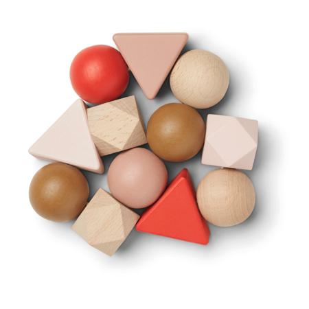 Immagine di Liewood® Giocatore di attività in legno Anna Tuscany Rose Multi Mix