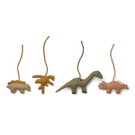 Immagine di Liewood®  Giocattoli di attività Gio Dino Golden Caramel/Multi Mix