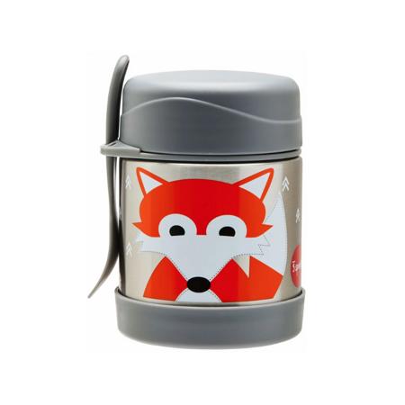 Immagine di 3Sprouts® Contenitore thermos cucchiaio/forchetta Volpe