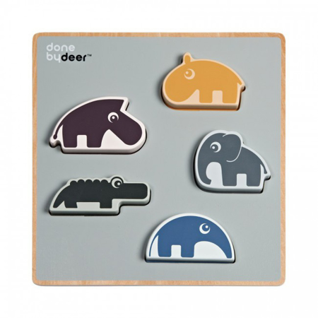 Immagine di Done by Deer® Chunky play puzzle Deer Friends