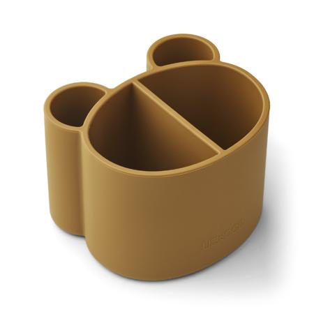 Immagine di Liewood® Vasetto universale  in silicone Sandra Golden Caramel