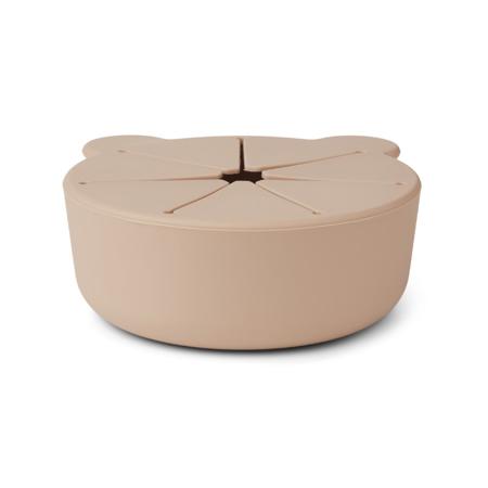 Immagine di Liewood® Set di 2 ciotole per snack in silicone Kelly Apple Red/Rose Mix