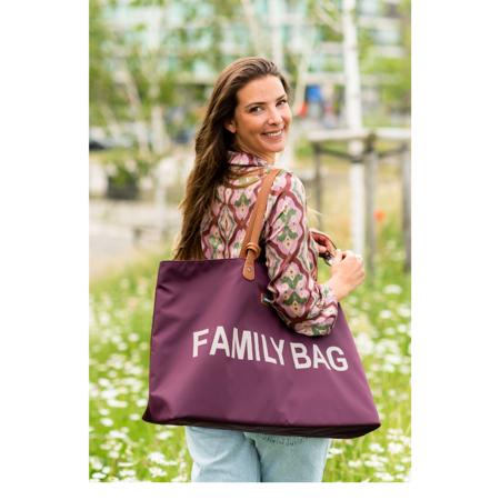 Immagine di Childhome® Borsa Family Bag Aubergine