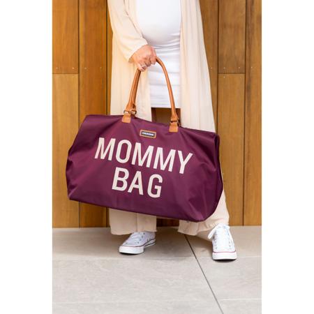 Immagine di Childhome® Borsa fasciatoio Mommy Bag Aubergine