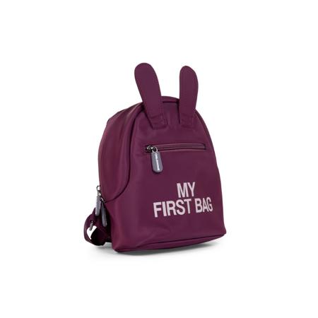 Childhome® Zaino  My First Bag Aubergine