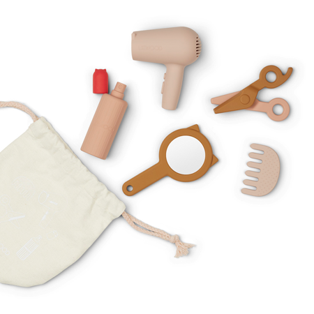 Liewood® Set in silicone per parrucchiere Rose Multi Mix