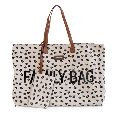Childhome® Borsa Family Bag Leopard