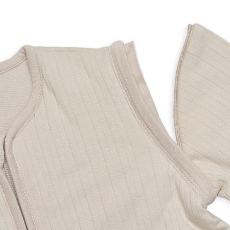 Immagine di Jollein®  Sacco nanna per bambini con maniche staccabili 110cm Stripe Nougat TOG 3.5