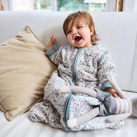 Immagine di Jollein®  Sacco nanna per bambini con maniche staccabili 110cm Bloom TOG 3.5