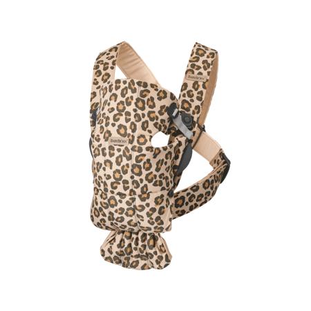 Immagine di BabyBjörn® Marsupio portabebè ergonomico  MINI Cotton Beige/Leopard