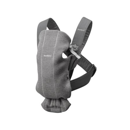 Immagine di BabyBjörn® Marsupio portabebè ergonomico MINI Jersey Dark Grey