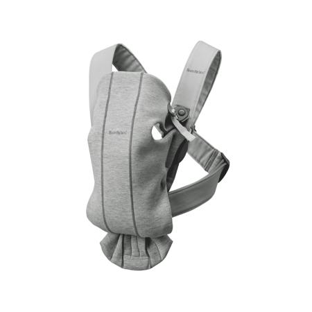 Immagine di BabyBjörn® Marsupio portabebè ergonomico MINI Jersey Light Grey