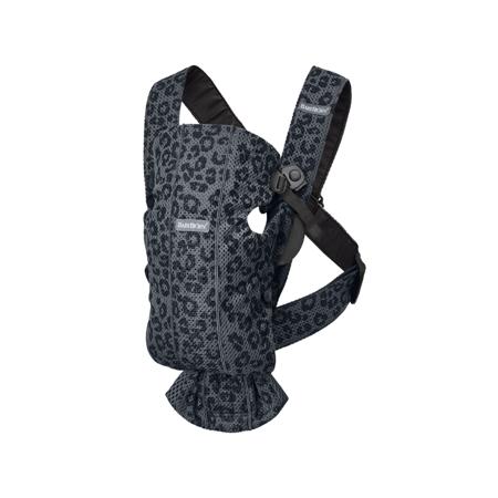 Immagine di BabyBjörn® Marsupio portabebè ergonomico MINI Mesh Anthracite/Leopard