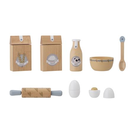 Immagine di Bloomingville® Gioco in legno per preparare pasticini Nature
