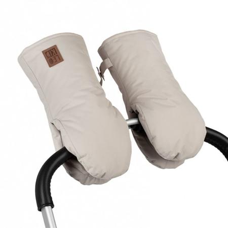 Leokid® Guanti per passeggino Raw Silk
