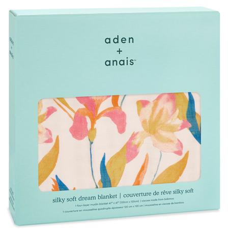 Aden+Anais® Coperta di bambù Marine Gardens 120x120