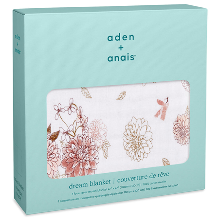 Aden+Anais® Copertina Dahlias  120x120