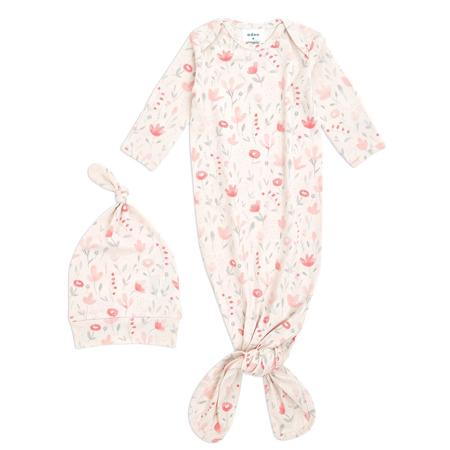 Immagine di Aden+Anais® Confezione regalo Sacco nanna e berretto Comfort Knit (0-3M) Perennial