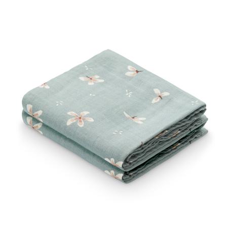 Immagine di CamCam® Set di pannolini tetra GOTS Windflower Blue