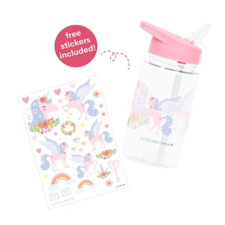A Little Lovely Company® Bottiglietta Unicorn