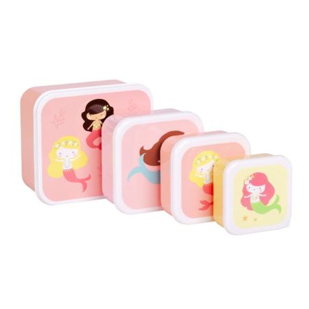 Immagine di A Little Lovely Company® Contenitori snack Mermaids