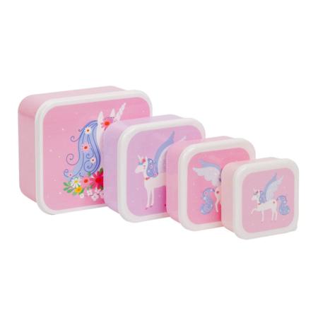 Immagine di A Little Lovely Company® Contenitori snack Unicorn