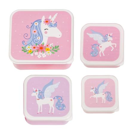 A Little Lovely Company® Contenitori snack Unicorn