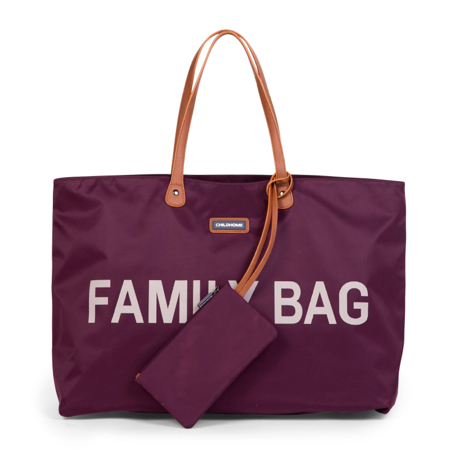 Childhome® Borsa Family Bag Aubergine