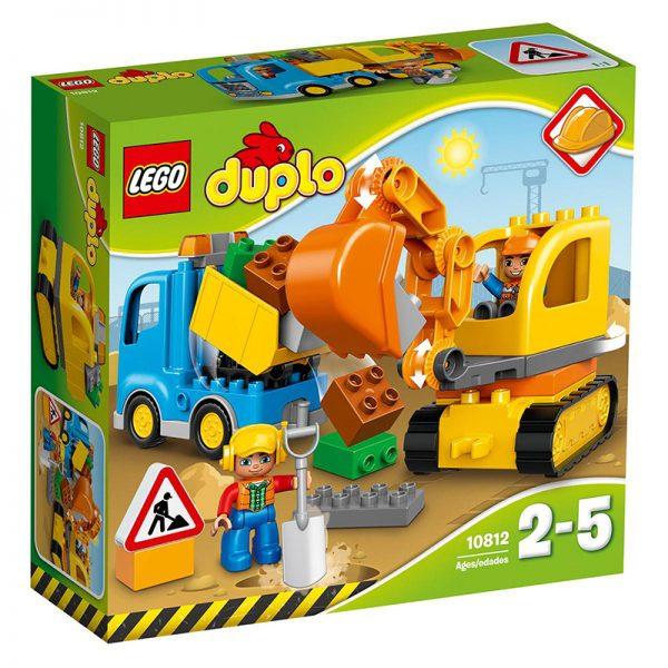 Evitas_LEGO_Duplo_Truck and excavator (1)
