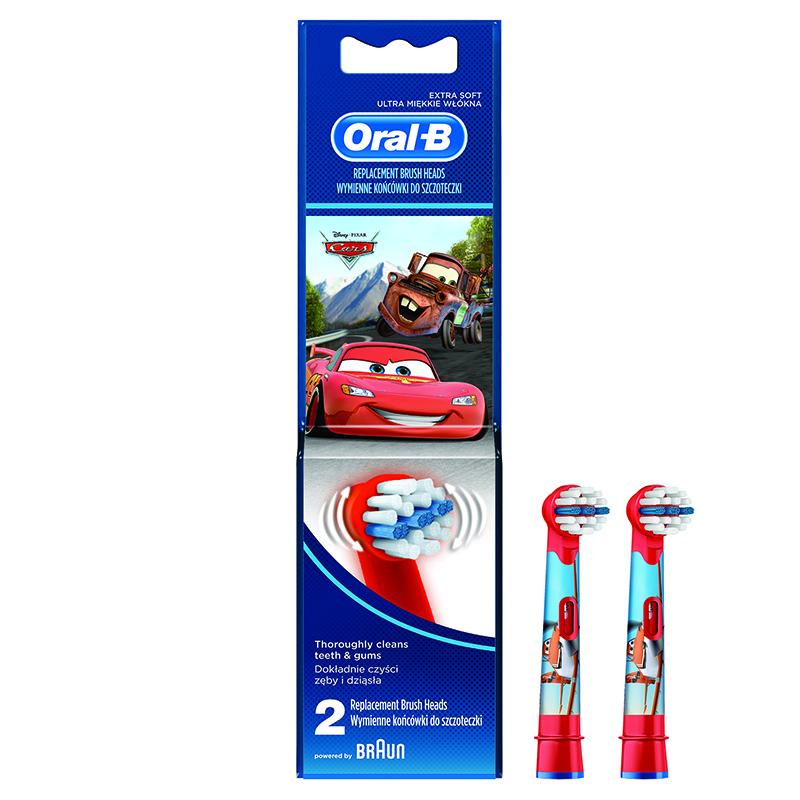 Oral b testine di ricambio kids cars 2 pz evitas - Porta testine spazzolino ...